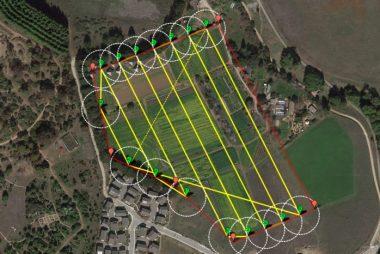 Mezőgazdasági Drone Felvétel