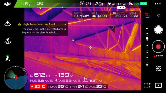Event Drone Filmstúdió GPS infra
